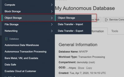 Exporting Data from Autonomous Database for Other Oracle Databases